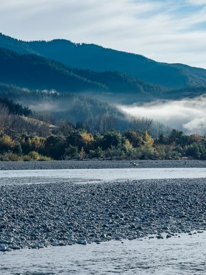 The Wairau river in Marlborough's Wairau Valley.